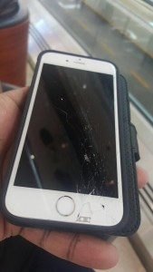 Cracked iPhone 6 Dubai