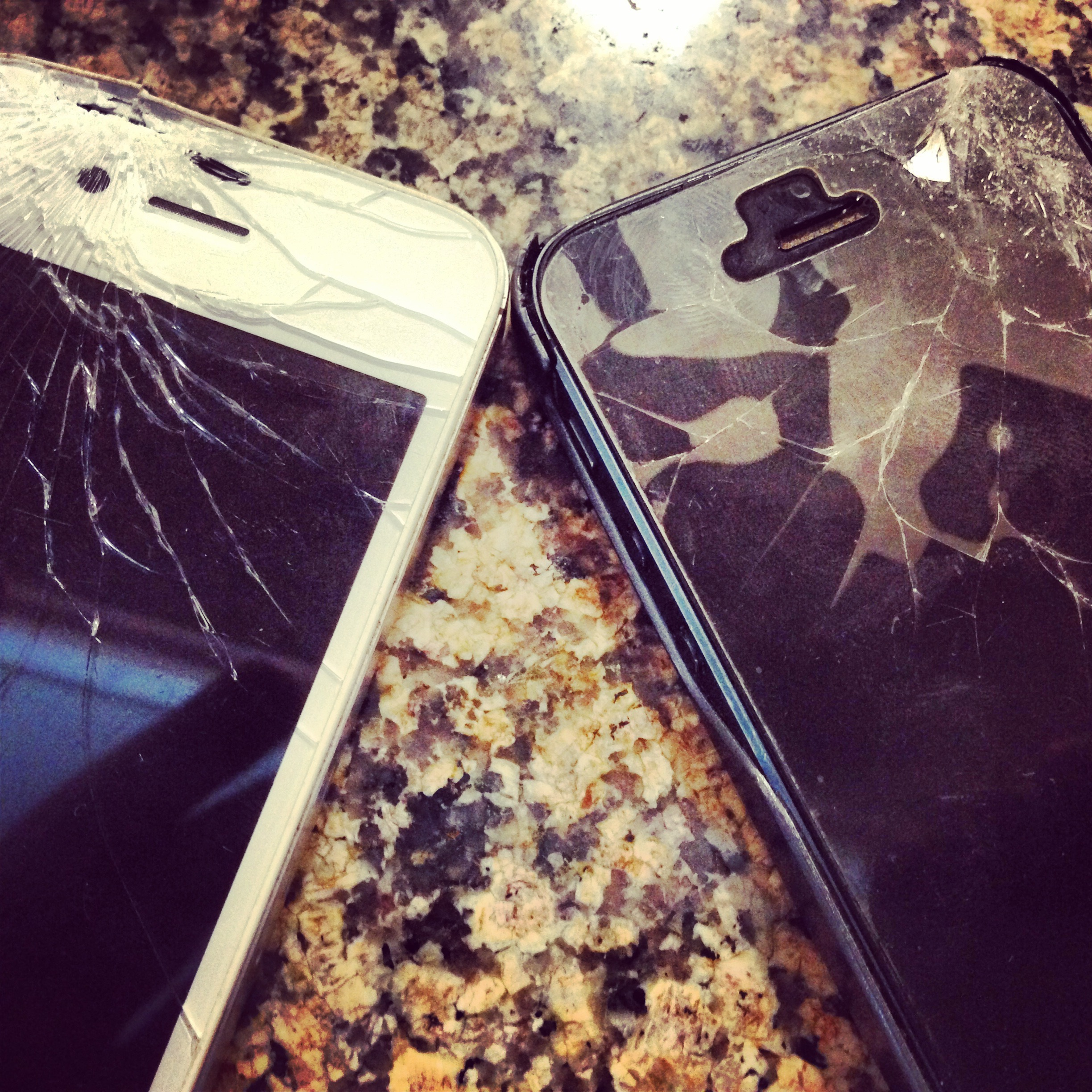 Double Trouble! One stop, Two Cracked iPhone Screen Repair Dubai