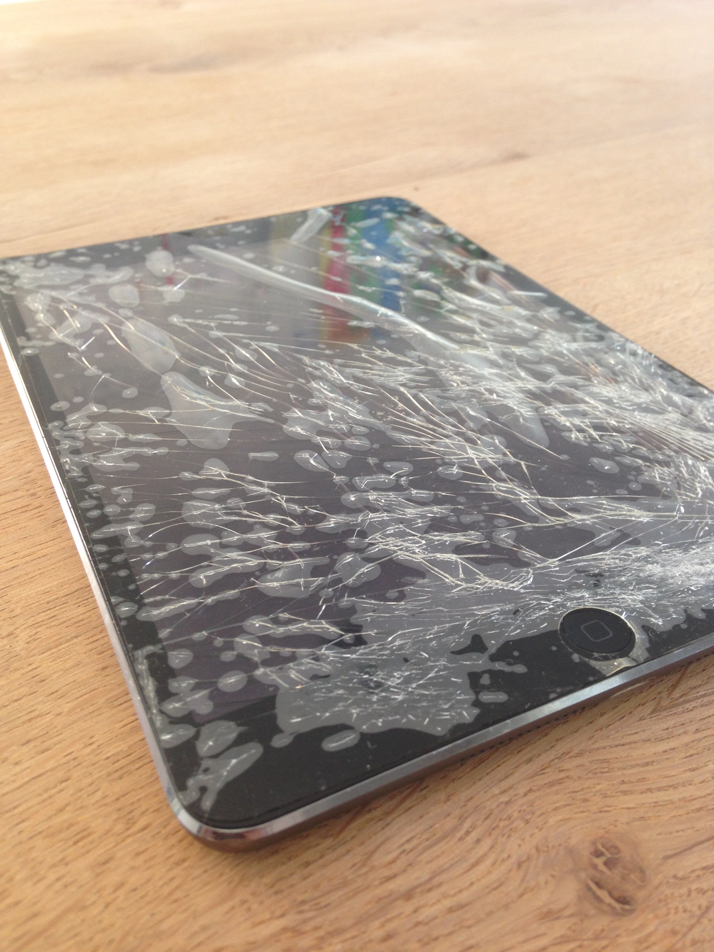ipad mini screen needs a little tender loving care