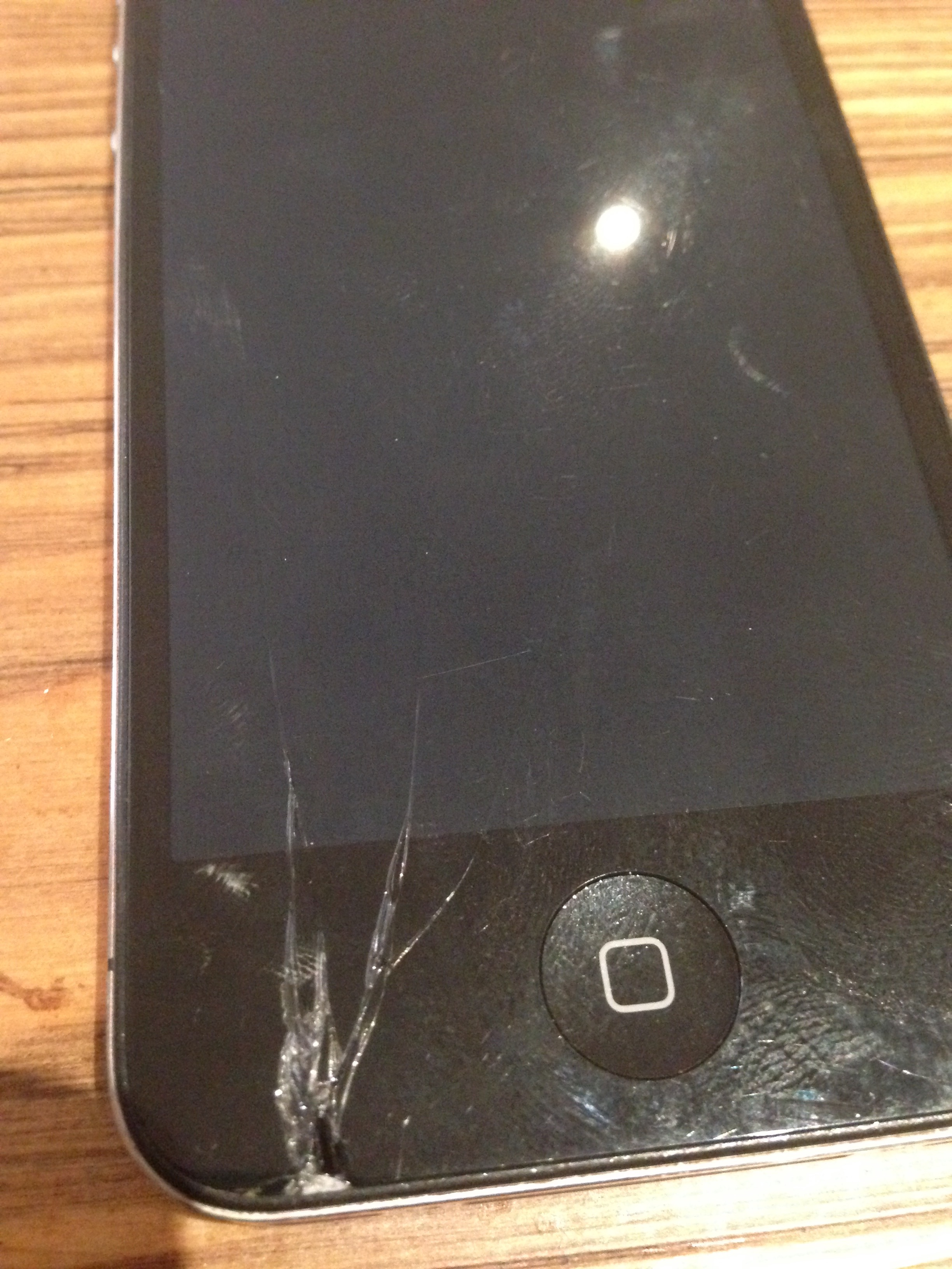 Cracked iPhone Repair? That's What I'm Talking About…
