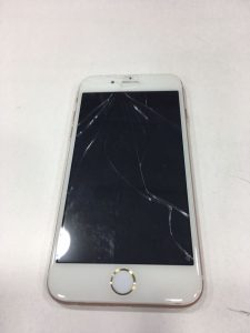 broken iPhone 6 screen in dubai