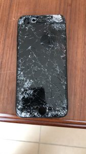 shattered iPhone dxb
