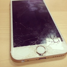 New Year! New Crack! New Screen! iPhone Repair Dubai