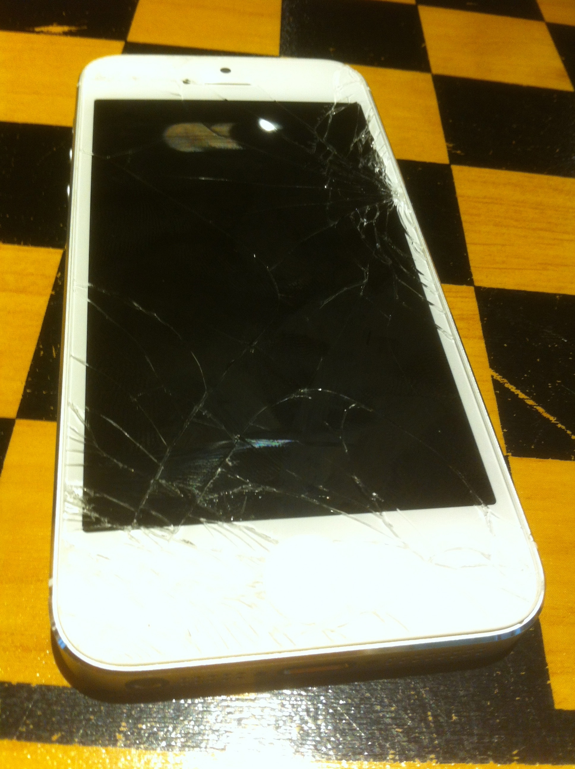 I Can't Help Crying About My Shattered iPhone 5 Screen